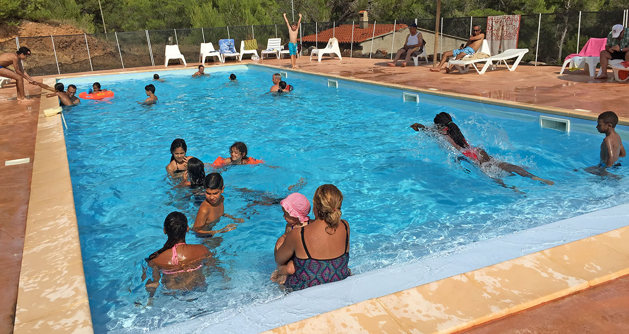Camping Le Bois de Pins - swimming pool